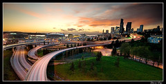 Seattle WHERE Magazine (Darien Chin) Tags: seattle city sunset photography hotel washington nw i5 dusk wa pugetsound safecofield darien i90 chin publication flickrsbest wwwwheremagazinecom darienchin wwwdarienchincom