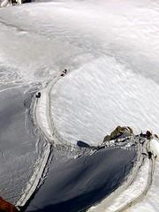 Chamonix (amazingmonkey22) Tags: winter sun mountain snow ski france mountains alps ice rock du glacier snowboard midi chamonix aiguilledumidi aiguille