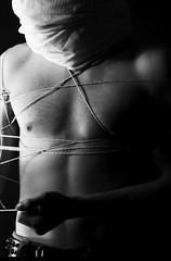 Bondage Shoot (noxreallyxhonest) Tags: male bondage rope