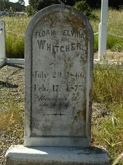 Floria Elvira Whitcher (jillmotts) Tags: graves gravestone montereycounty fortord eastgarrison familyplot jillmotts whitcherfamily