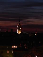 Helsinki (Anna Amnell) Tags: darkness books nightsky yö johnirving hotellitorni