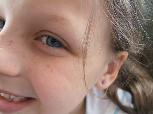 finally pierced!