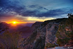 Sunrise over the Rim (norjam8) Tags: red arizona orange cliff sun yellow wall sunrise nationalpark glow purple plateau grandcanyon pb canyon hdr mdc supershot md2 md5 5xp anawesomeshot impressedbeauty superbmasterpiece diamondclassphotographer flickrdiamond norjam8 imgp6898hpf norjamss