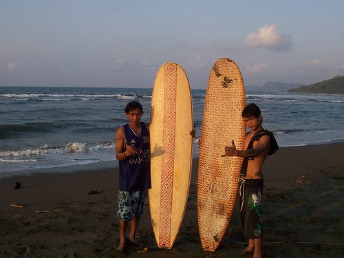 the surfing instructors