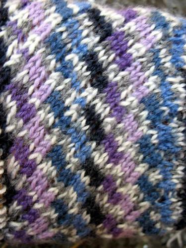 Odessa sock close-up