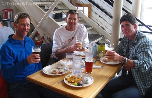 Neil Beidleman, Chris Davenport and Ted Mahon