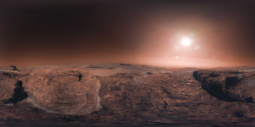First images of the surface of Gliese 581 C