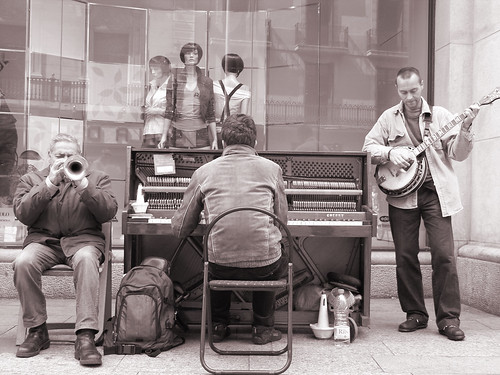 Musiker sind ein Team
