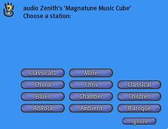 Radio Menu System