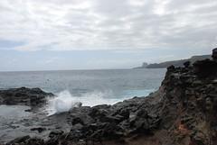 View from the Nakalele Blowhole (bruzasd) Tags: hawaii maui iaoneedle nakaleleblowhole olivinepools westmaui singlelaneroad