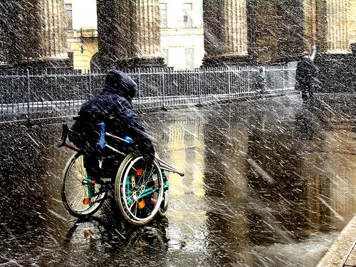 Thumb Condenado clima ruso, por suerte traje mi silla