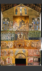 Torcello: Last Judgement (DUCKMARX) Tags: italy architecture mosaic empty byzantine throne torcello lastjudgment prepared lastjudgement 12thcentury dopiaza giudiziouniversale cathedralofsantamariaassunta venice2007 etimasia hetoimasia