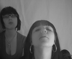 Muffin n me (Bea Starr Dewhurst) Tags: youth self hair smoking dye hoops timer giggles