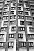 Sivill House (bensmawfield) Tags: blackandwhite abstract building home architecture geometry flats shoreditch lubetkin sivillhouse