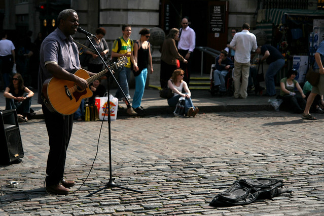 Street Performer near Covent Garden Market