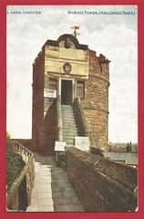 Photo of Chester. King Charles 1st. Tower (The Phoenix Tower).