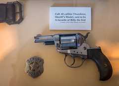 Colt Thunderer Revolver (Serendigity) Tags: lincoln wildwest historic museum colt usa revolver pistol unitedstates gun town newmexico