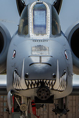 Fairchild Republic A-10C Thunderbolt II of 303 FS from Whiteman AFB (Norman Graf) Tags: 10af 10thairforce 303fs 303dfightersquadron 442ndfw 442ndfighterwing 790121 a10 a10c afrc airforcereservecommand aircraft airplane cas closeairsupport davismonthanafb fairchildrepublic hawgsmoke2016 jet kc militaryexercise plane thunderboltii usaf unitedstatesairforce warthog whitemanafb