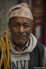 old man in a market - West Bengal, India-1 (Christian Loader) Tags: christianloader india westbengal market people portrait local face head indian