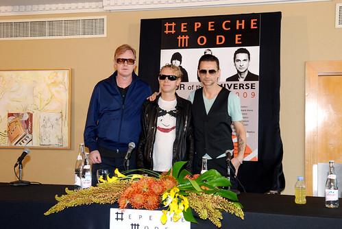 Depeche Mode in israel // @ Hilton Tel Aviv 08/05/09