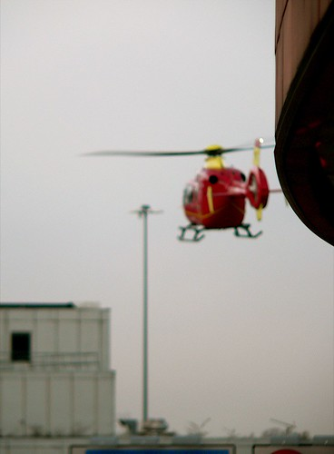 off focus helicopter
