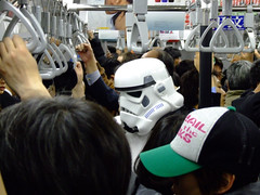 trooper on subway