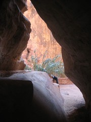light and darkness in desert rock (Sir Schwartzalot) Tags: holiday petra schwartz garfinkle
