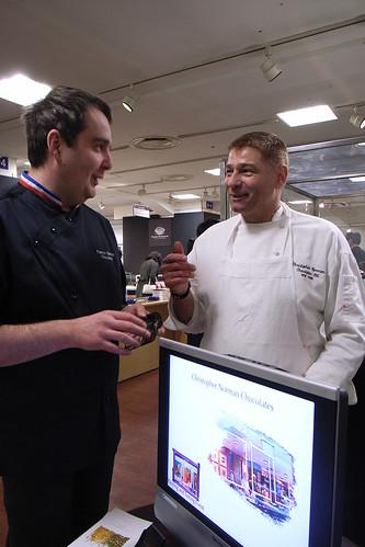 Fabrice Gillotte and John Down, Salon du Chocolat Tokyo