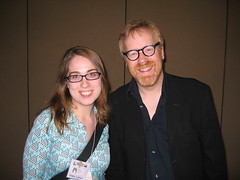 Adam Savage and I