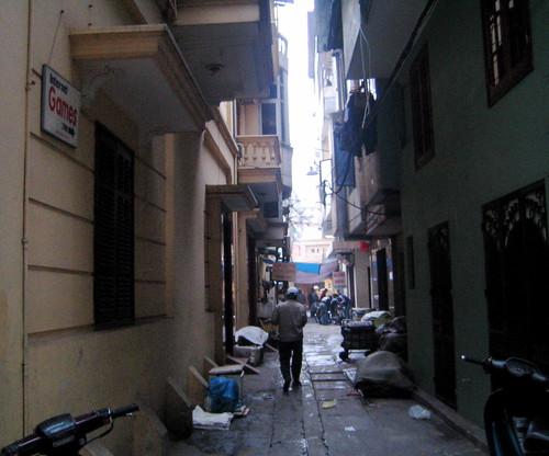 Hanoi lane