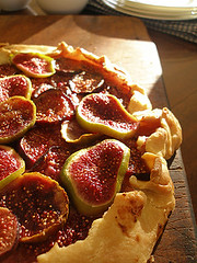Very(!) rustic crostata (redcipolla) Tags: dessert fig sweet rustic homemade honey ricotta tart crostata shortcrust