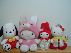 Hello Kitty and Friends (linastyle) Tags: hellokitty kitty pochacco mymelody