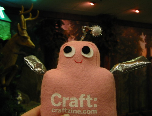 Pink Craftie at Clifton's