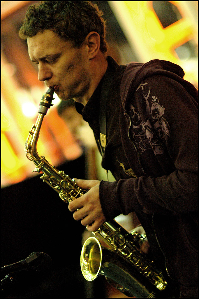 Rush Hour Blues, February 2nd. 2007 : Marcus Byrne Quintet