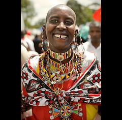happy, Maasai ( Tatiana Cardeal) Tags: nairobi kenya africa worldsocialforum frumsocialmun