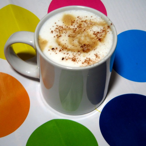 Colourful cappucino II