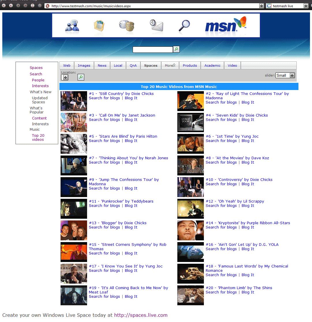 5 - Music videos