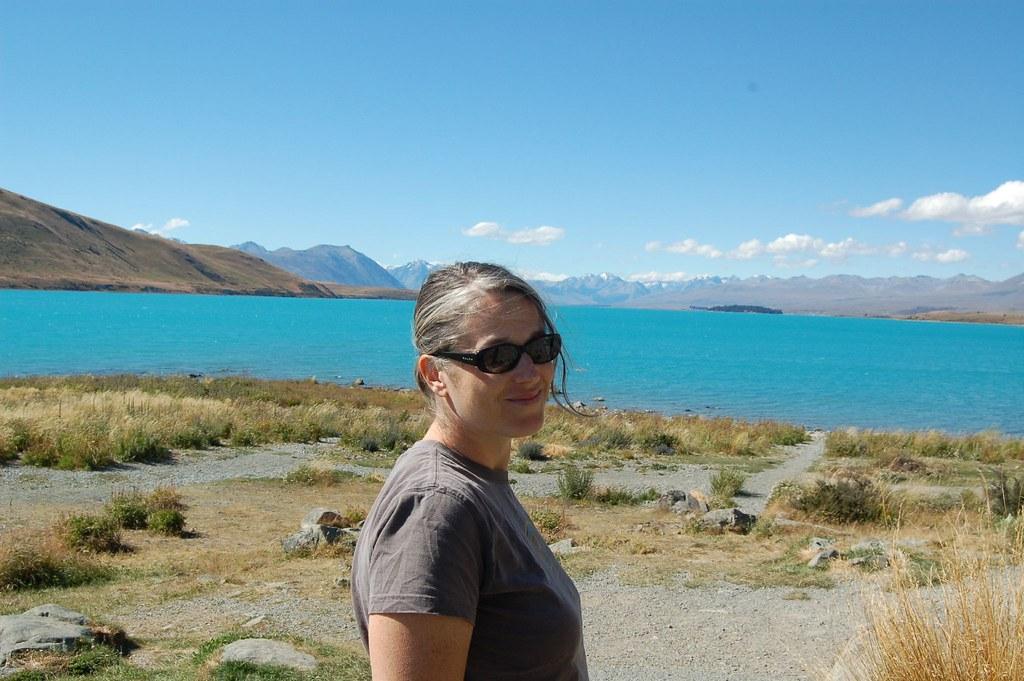 Crazy Blue Lake Tekapo