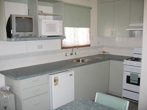 kitchen In Studio Cabin