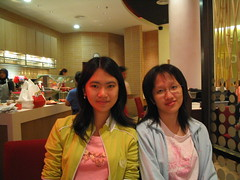 Chin Lin & I @ Kenny Rogers Queensbay