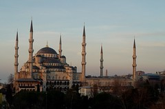 Sultanahmet (Blue Mosque) at Dawn (Oberazzi) Tags: blue monument turkey blind photographers landmark istanbul mosque bluemosque sultanahmet faved sultanahmed blindphotographers frhwofavs trkiyeturchia
