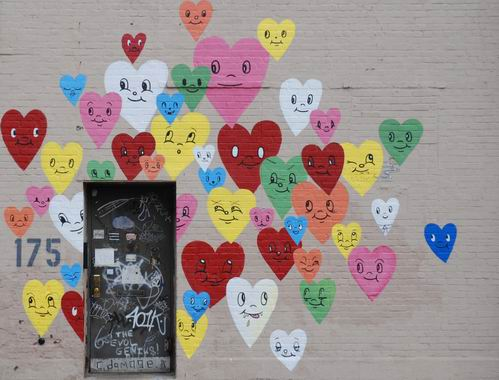 Hearts and Door