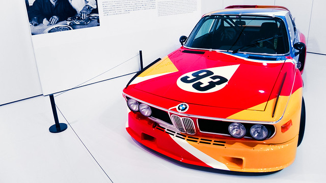 1975 BMW 3.0 CSL by Alexander Calder, First BMW Art Car