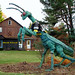 Giant Praying Mantis, Lincoln Highway, near Stoystown, PA