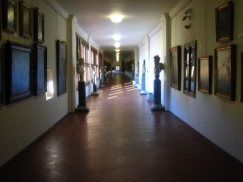 The Vasari Corridor over the Ponte Vecchio