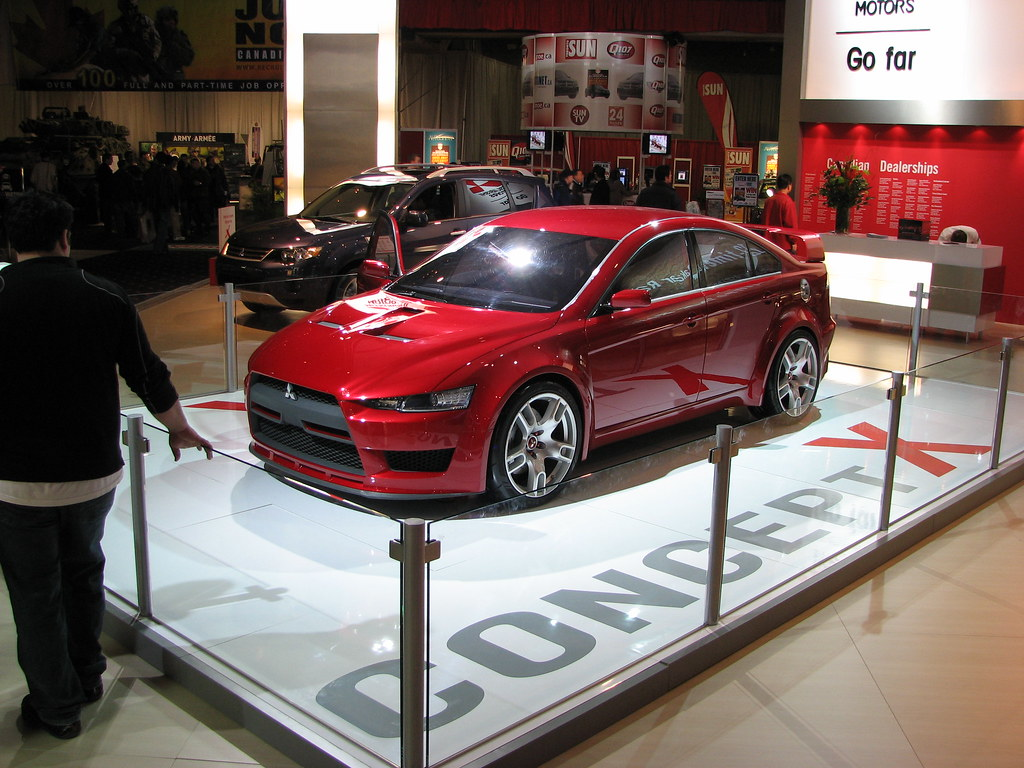 08 lancer and ralliart concept x body kit