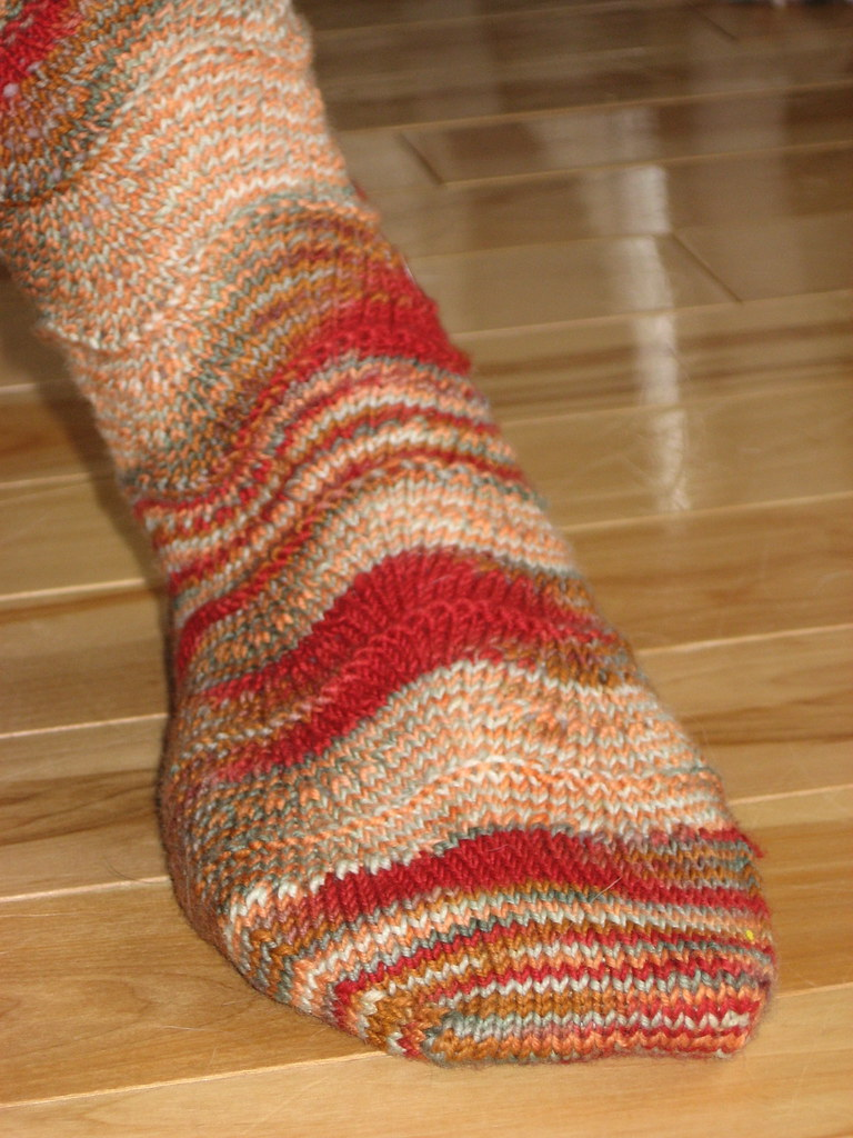 Heat Waves socks