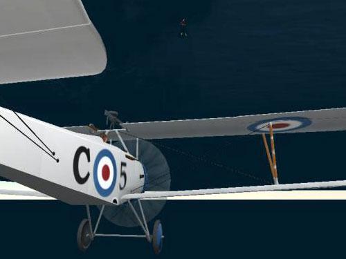 The Sunken Aeroplane