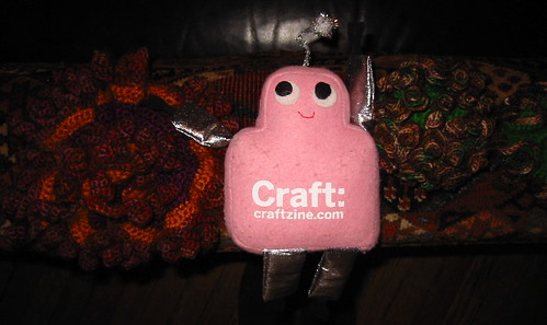 Pink Craftie visits the coral reefs at the Institute for Figuring