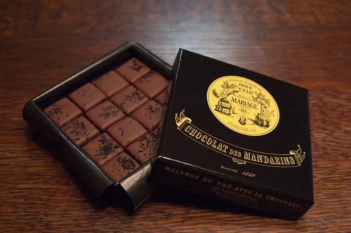 CHOCOLATS DES MANDARINS